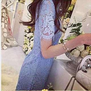 Light Blue Lace Dress (BN)