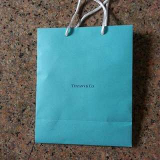 Brand New Tiffany & Co paper bag