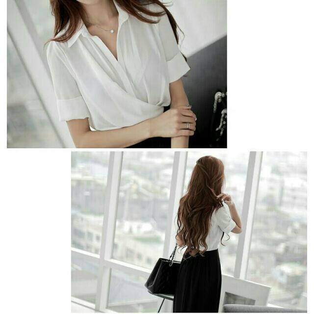 黑白配色氣質連身裙