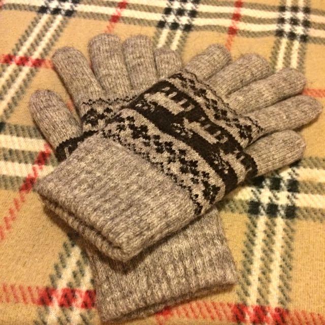 麋鹿刷毛手套
