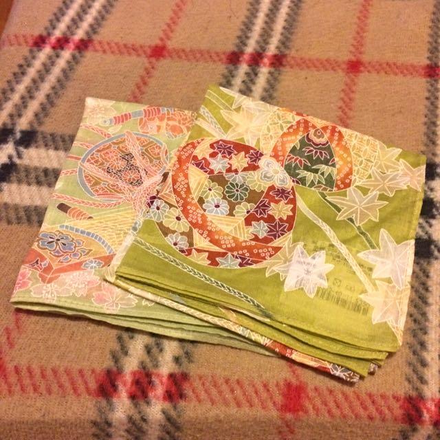 日式風手帕