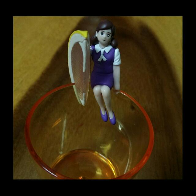 紫色檸檬杯緣子♡