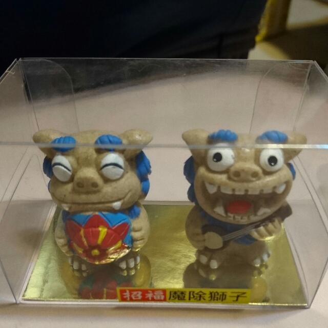 沖繩風師爺(交換禮物)