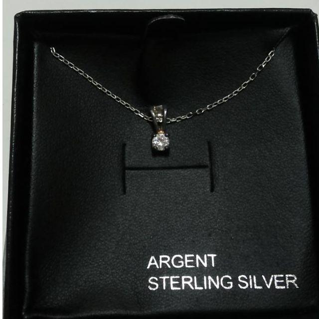 水鑽石項鍊 盒裝