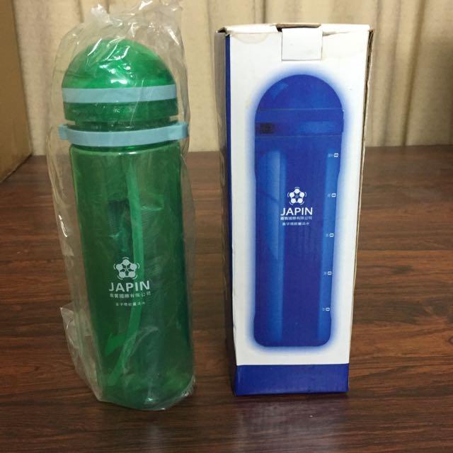 全新 運動水壺 水瓶 吸管