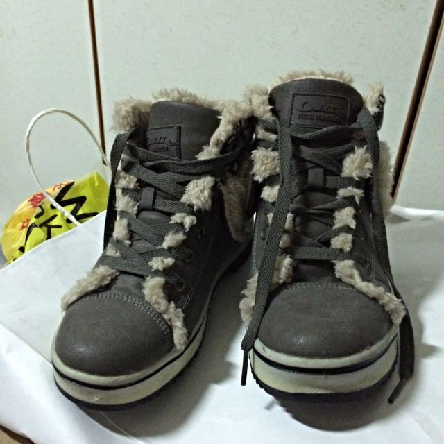 韓國購入 雪鞋 雪靴 內增高