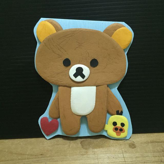拉拉熊 手工卡片 立體卡片 (可預訂)