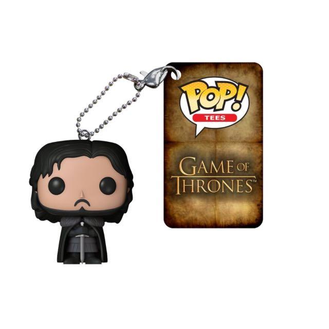 權力遊戲 Game Of Thrones Jon Snow 吊飾