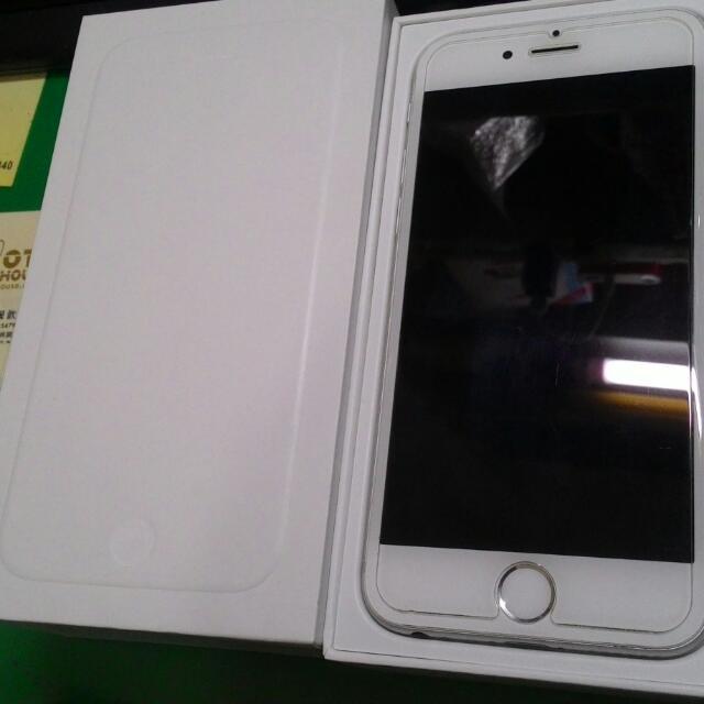 (二手) I phone 6 銀色 64GB 未過保