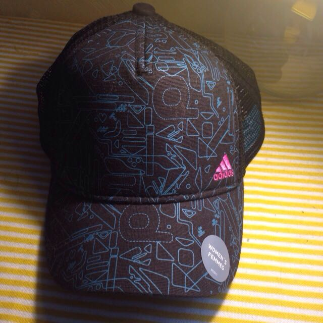 正版aididas網帽