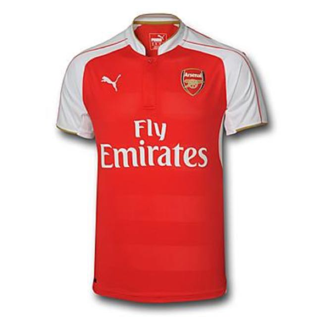 official photos 75b1f b6ffa 100% AUTHENTIC ARSENAL RAMSEY 16 JERSEY, Men's Fashion on ...