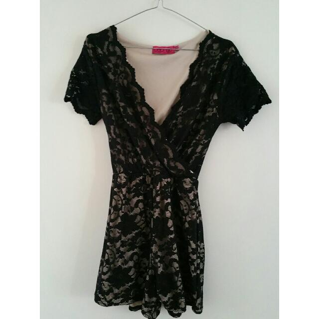 Boohoo Playsuit Size 14