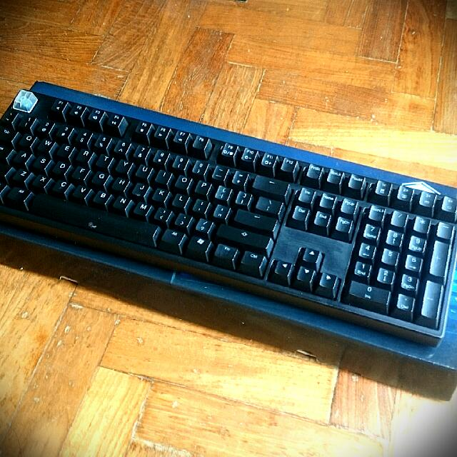 ducky mechanical keyboard blue switch electronics on carousell