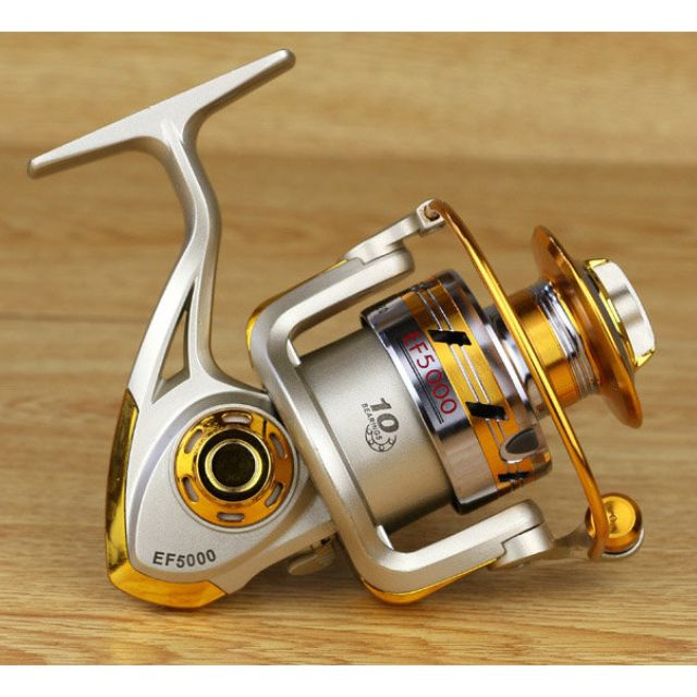 EF1000賣場-魚輪 甩竿 海釣 溪釣 釣魚 漁魔士EF金屬搖臂漁線輪 魚線輪 紡車輪漁具 捲線器