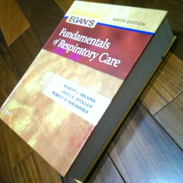Egans's Fundamentals Of Respiratory Care