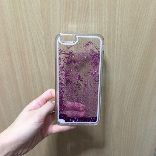 Iphone 6 6S Glitter Water Casing ( 6 mailed) 8cd60d3194