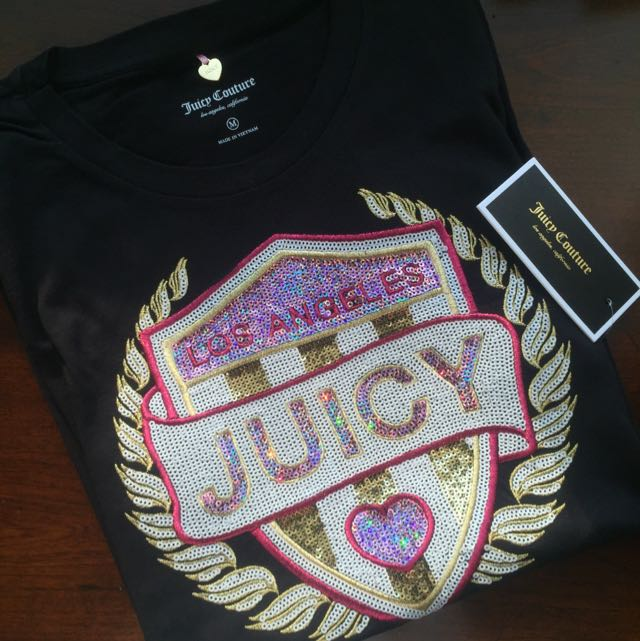 Juicy Couture Logo 短袖 上衣
