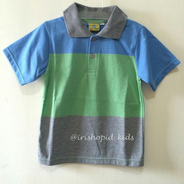 KIDS Stripes Polo Shirt