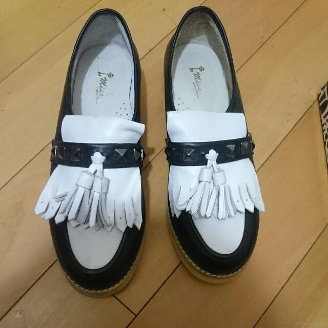 Miss 21 鉚釘鞋 龐克