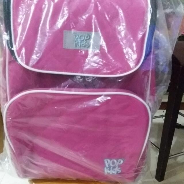 New Pink Pop Kids School Bag By Popular Bookstore Babies Kids On