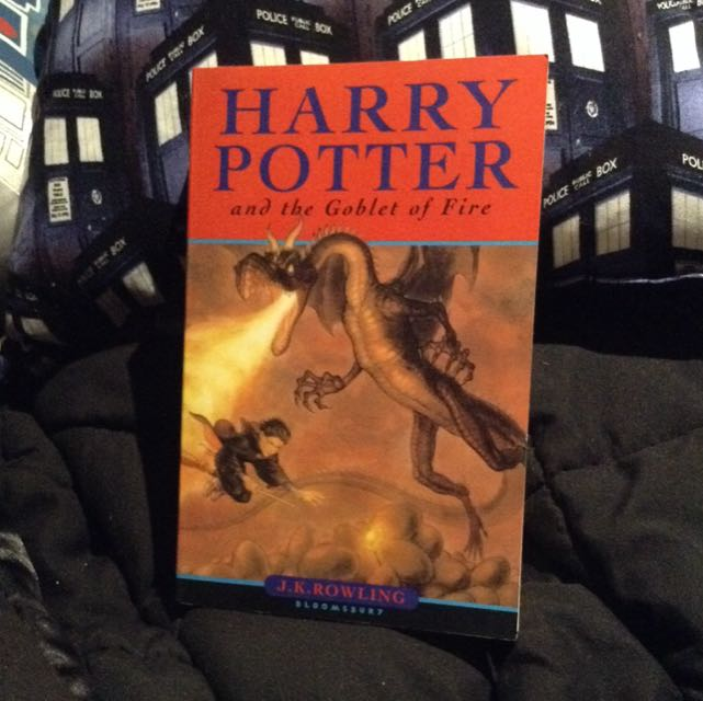 *NEW SECOND EDITION* Harry Potter + the Goblet of Fire