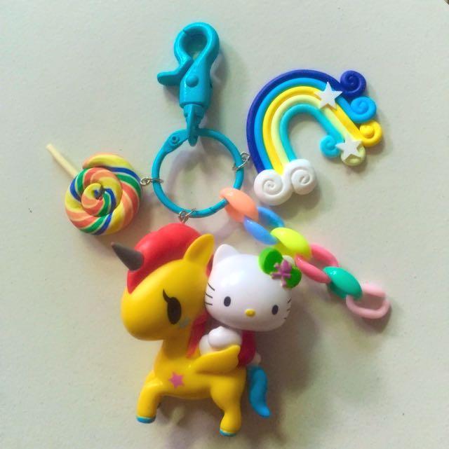 Tokidoki Unicorno Kitty Fob