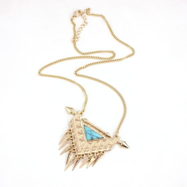 Tribal Inspired Necklace - Supplier Here - EN-047