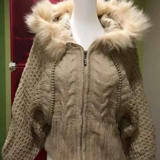 飛鼠袖針織外套