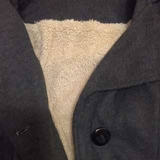 大衣外套 灰色 含運
