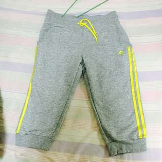 adidas棉質運動七分褲(保留中)