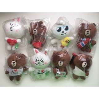 (NEW) Line Bear Cony And Brown