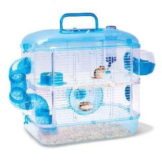 Jolly 2 Story Crystal Castle Hamster Cage
