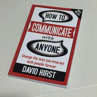 How to communicate with Anyone