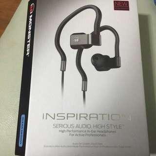 Monster Inspiration耳掛式耳機