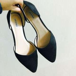 (保留)二手/黑色平底鞋