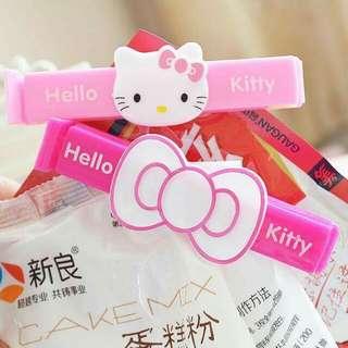 @ Hello Kitty預購專區@ Kitty封口夾2入一組*3