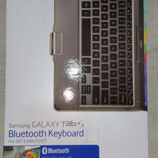 Brand New Bluetooth Keyboard For Samsung Tab S 10.5