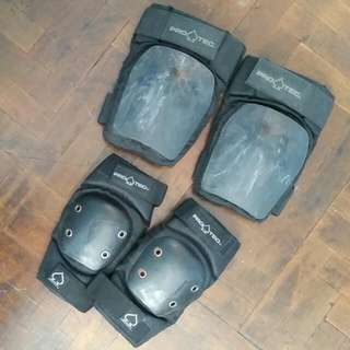 Protection Gear. Knee & Elbow Guard (protec)