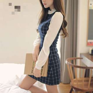 Brand New With Tag Grid Dress