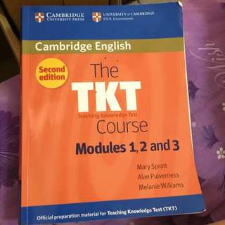 The TKT Course Modules 1,2 and 3