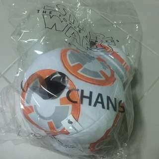 (Reserved) wts: Brand New Starwars Bb-8 Changi-exclusive Plush Toys