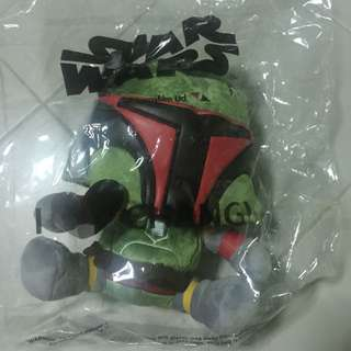 (Reserved) wts: Brand New Starwars Boba Fett Changi-exclusive Plush Toys