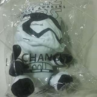 (Reserved) wts: Brand New Starwars Storm Trooper Changi-exclusive Plush Toys