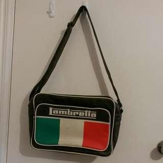 Lambretta vintage messenger bag