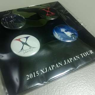wts: Brand New X Japan Merchandise Badge