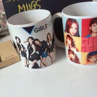 girls' generation mugs ☄