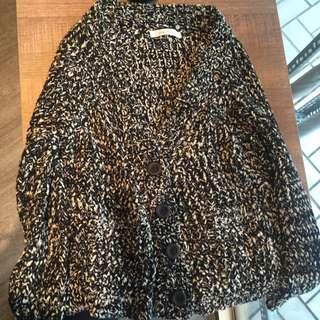 韓版針織小外套。很好搭。