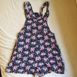 ASOS Floral Black Jumpsuit