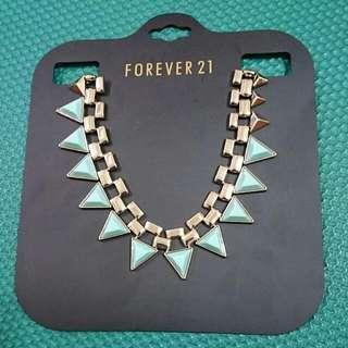 FOREVER21三角項鍊