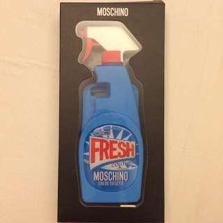 專櫃貨Moschino正版清潔劑手機殼 iPhone6/6s通用